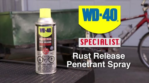 WD-40 Specialist Rust Release Penetrant Spray - image 10 from the video