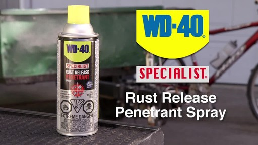 WD-40 Specialist Rust Release Penetrant Spray - image 2 from the video
