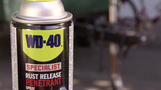 WD-40 Specialist Rust Release Penetrant Spray - image 4 from the video