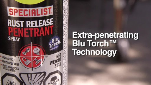 WD-40 Specialist Rust Release Penetrant Spray - image 5 from the video