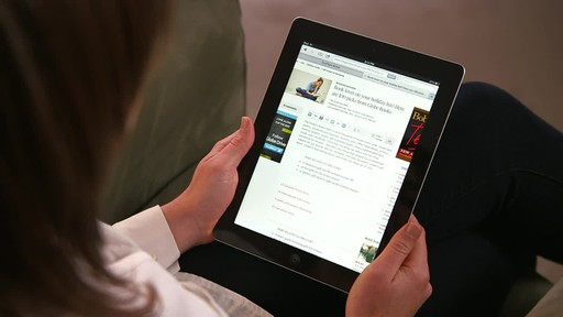Canadian Tire iPad app: Sales Alert Feature - image 1 from the video
