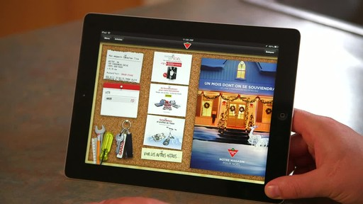 Canadian Tire iPad app: Sales Alert Feature - image 10 from the video