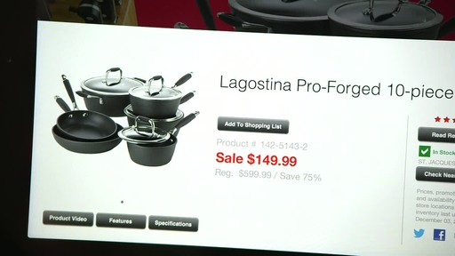 Canadian Tire iPad app: Sales Alert Feature - image 3 from the video