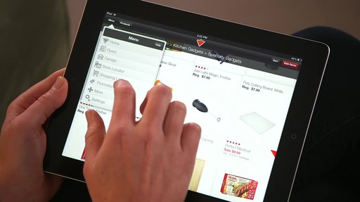 Canadian Tire iPad app: Sales Alert Feature - image 6 from the video