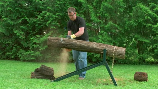Yardworks Ultimate Sawhorse - image 2 from the video