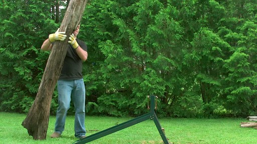 Yardworks Ultimate Sawhorse - image 4 from the video