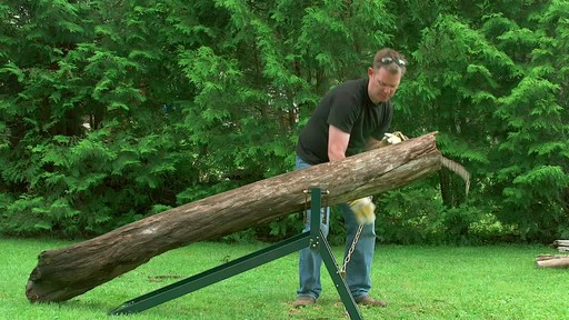 Yardworks Ultimate Sawhorse - image 5 from the video