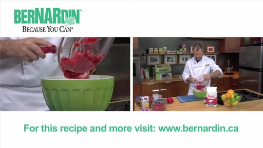 Freezer Jam - Bernardin - image 5 from the video