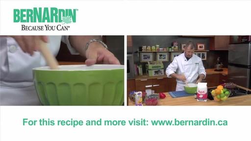 Freezer Jam - Bernardin - image 6 from the video