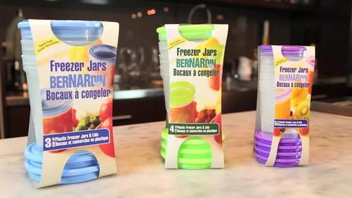 Bernardin Plastic Freezer Jars - image 6 from the video