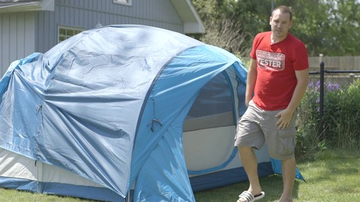 Woods™ Big Cedar Tent, 4-Person with Nathan - TESTED Testimonial - image 10 from the video
