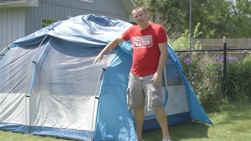 Woods™ Big Cedar Tent, 4-Person with Nathan - TESTED Testimonial - image 6 from the video
