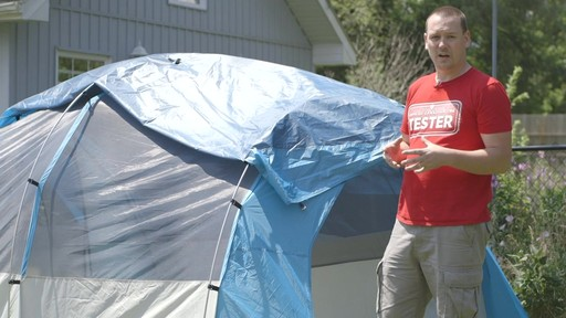Woods™ Big Cedar Tent, 4-Person with Nathan - TESTED Testimonial - image 7 from the video