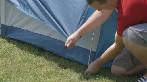 Woods™ Big Cedar Tent, 4-Person with Nathan - TESTED Testimonial - image 9 from the video