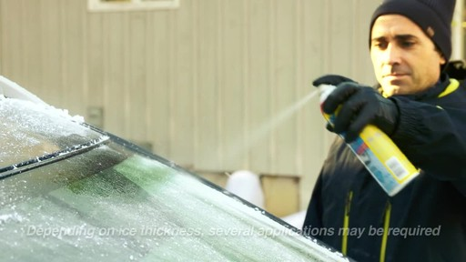 Rain-X Windshield De-Icer - image 4 from the video