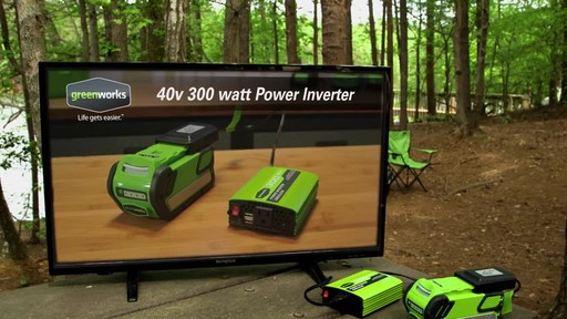 Greenworks 40 V 300W Power Inverter - image 1 from the video