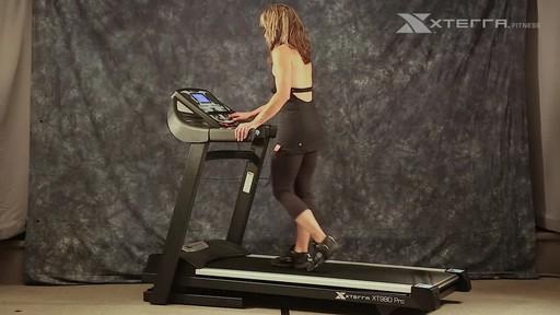 Xterra XT980T Pro Treadmill - image 2 from the video