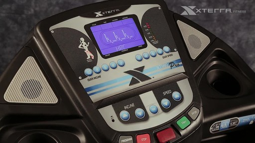 Xterra XT980T Pro Treadmill - image 8 from the video