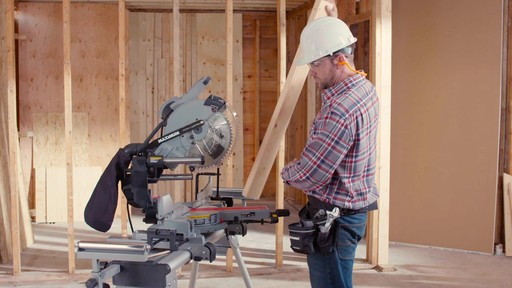 MAXIMUM Dual Bevel Sliding Mitre Saw, 12-in - image 1 from the video