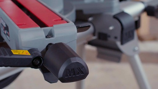 MAXIMUM Dual Bevel Sliding Mitre Saw, 12-in - image 2 from the video