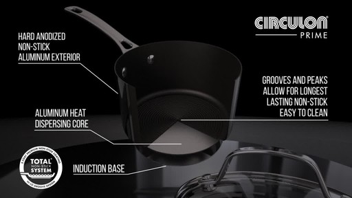 Circulon Hard Anodized Cookset, 11-pc - image 4 from the video