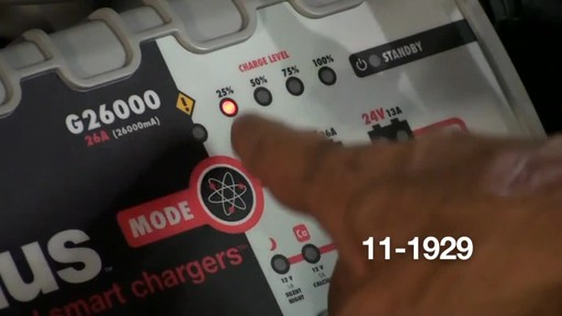 Noco Genius G26000 Smart Battery Charger - image 4 from the video