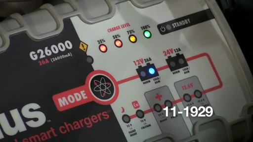 Noco Genius G26000 Smart Battery Charger - image 5 from the video