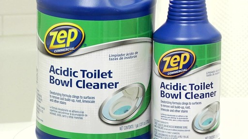 ZEP Commercial Toilet Bowl Cleaner - image 10 from the video