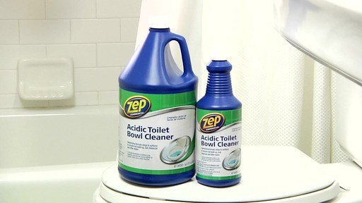 ZEP Commercial Toilet Bowl Cleaner - image 8 from the video