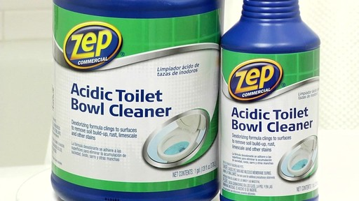 ZEP Commercial Toilet Bowl Cleaner - image 9 from the video