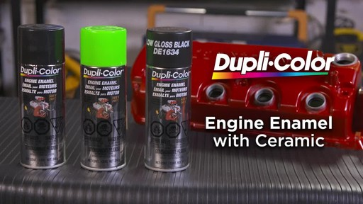 Dupli-Color Engine Enamel with Ceramic - image 10 from the video