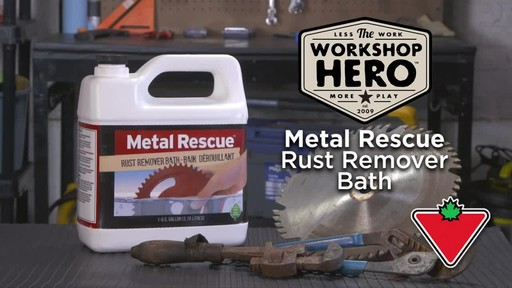 Workshop Hero Metal Rescue Rust Remover Bath - image 1 from the video