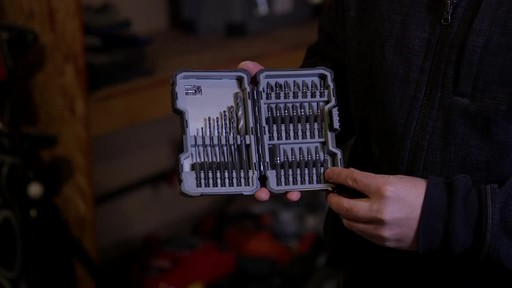 MAXIMUM 28-pc Impact, Screw and Drill Bits Accessory Set - Chris' Testimonial - image 8 from the video