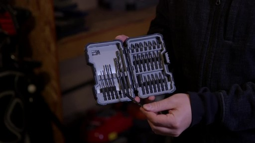 MAXIMUM 28-pc Impact, Screw and Drill Bits Accessory Set - Chris' Testimonial - image 9 from the video