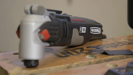 Rockwell Sonicrafter F50 4A Oscillating Mult-Tool- Frank's Testimonial - image 1 from the video