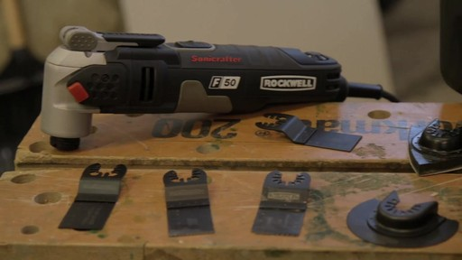 Rockwell Sonicrafter F50 4A Oscillating Mult-Tool- Frank's Testimonial - image 10 from the video