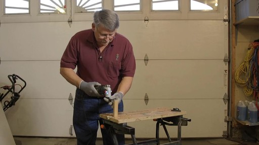 Rockwell Sonicrafter F50 4A Oscillating Mult-Tool- Frank's Testimonial - image 7 from the video
