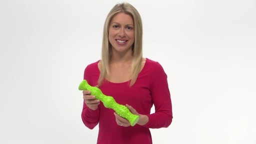 Gaiam Restore Dual Foot Roller - image 2 from the video