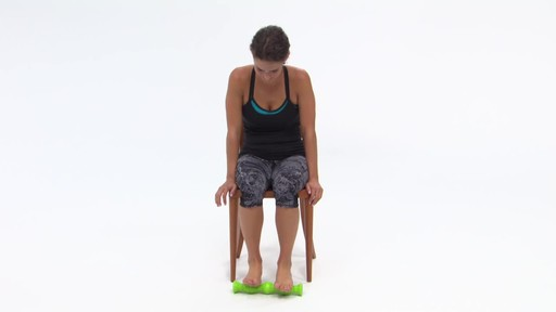 Gaiam Restore Dual Foot Roller - image 3 from the video