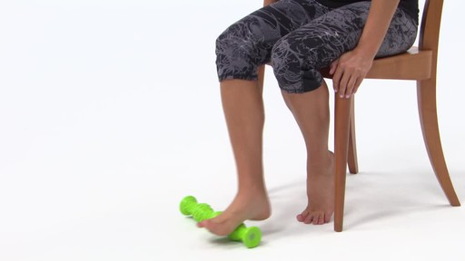 Gaiam Restore Dual Foot Roller - image 8 from the video