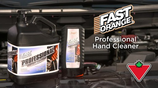 Permatex Fast Orange Professional Pumice Hand Cleaner - image 1 from the video