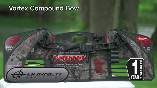 Barnett Vortex Compound Bow - image 10 from the video