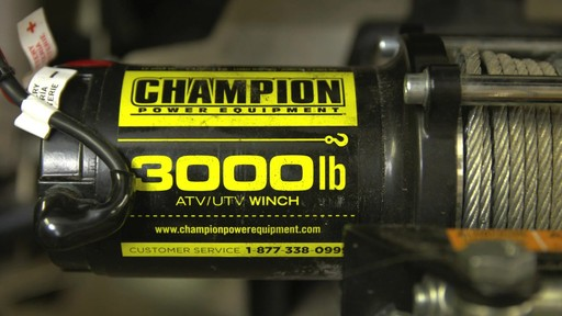 Champion Winch Kit, 3,000-lbs - Greg's Testimonial - image 10 from the video