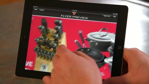 The Canadian Tire iPad app: Tips and Features - image 2 from the video