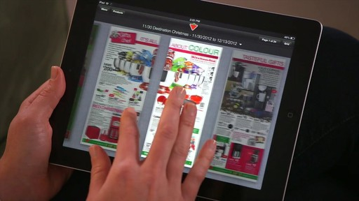 The Canadian Tire iPad app: Tips and Features - image 3 from the video