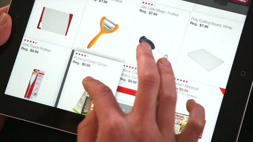 The Canadian Tire iPad app: Tips and Features - image 4 from the video