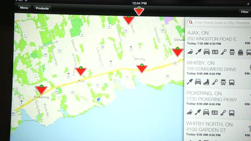 The Canadian Tire iPad app: Tips and Features - image 9 from the video