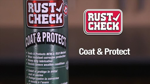 Rust Check Coat & Protect - image 6 from the video