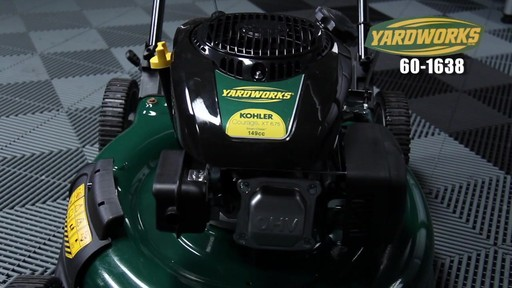 Yardworks 149 cc 21-in Side Discharge Mower - image 3 from the video
