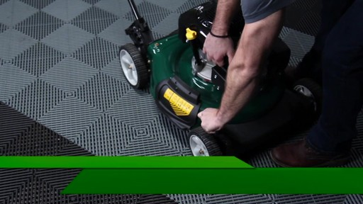 Yardworks 149 cc 21-in Side Discharge Mower - image 7 from the video